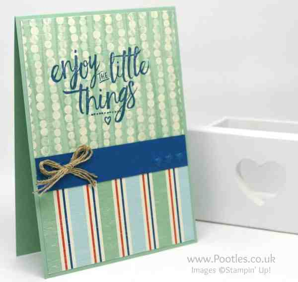 Stampin' Up! Demonstrator Pootles - Layering Love By The Shore