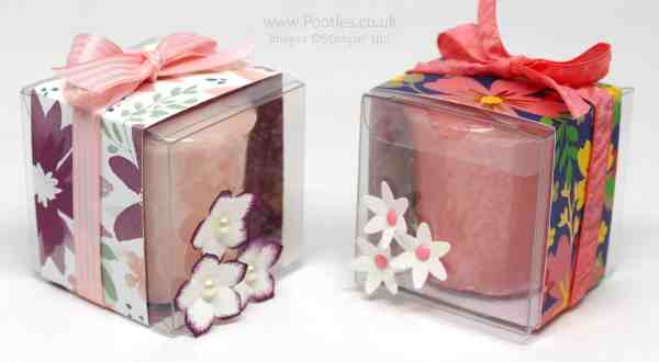 Stampin' Up! Clear Treat Boxes for Yankee Candles