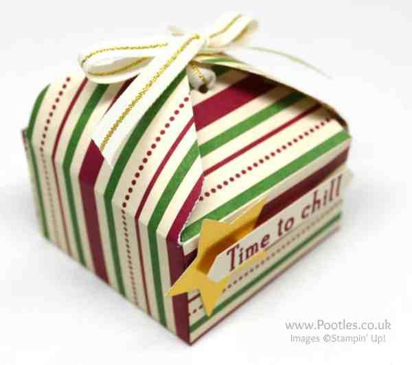 Pootles' Way Back Wednesday Envelope Punch Board Tab Tie Box Single