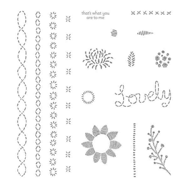 Stampin' Up! Lovely Stitching