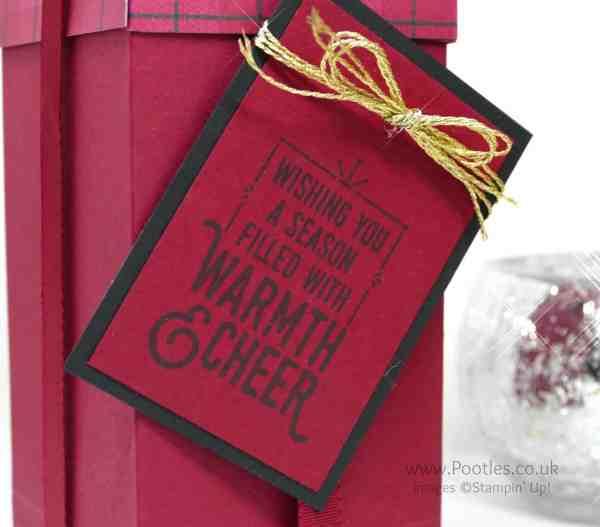 Pootles Advent Countdown 2016 #15 Tall Warmth & Cheer Box Warmth Cheer Stamp Set