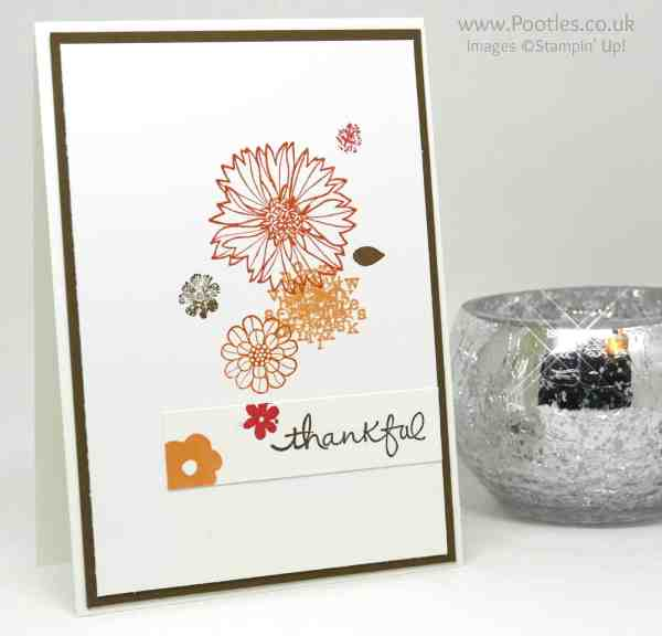 Stampin' Up! Demonstrator Pootles - Single Layer Touches of Texture