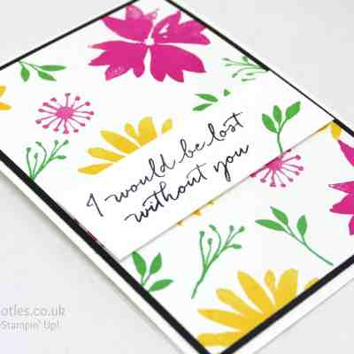 Bright Blooms & Wishes, Why Not!