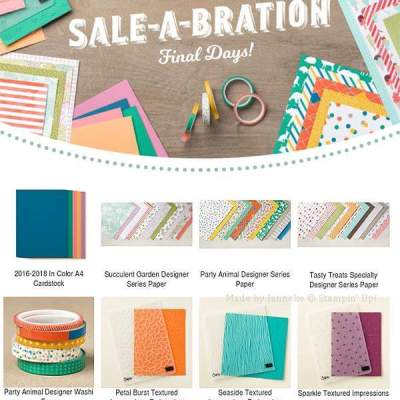 New Sale a Bration Items have been added!!