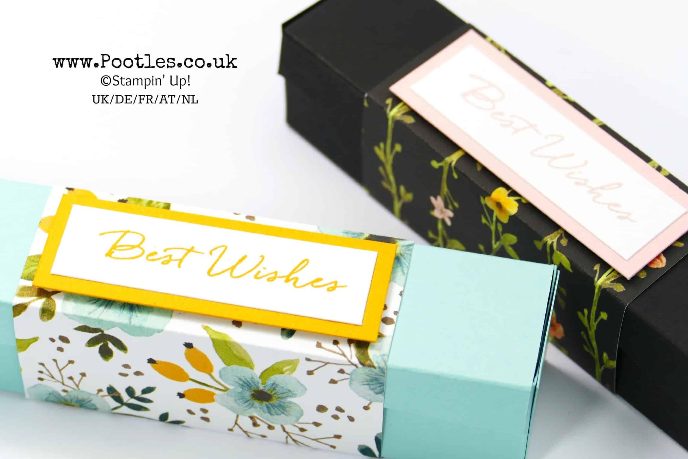 Stampin Up Demonstrator Pootles Stunning Box Using
