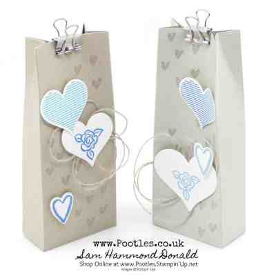 Heart Happiness Bag Tutorial – 2 From One Sheet of Cardstock