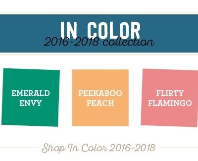 In Colours for 2016-2018 leaving us….