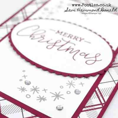 Warm Hearted Festive Farmhouse Christmas Card