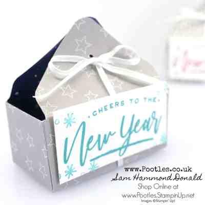 Envelope Punch Board Happy New Year Open Basket Tutorial