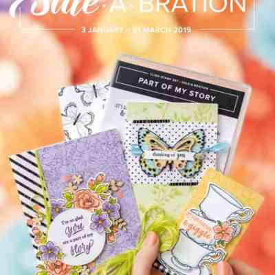 Spring Summer Catalogue and Sale a Bration 2019 is a Go Go Go!