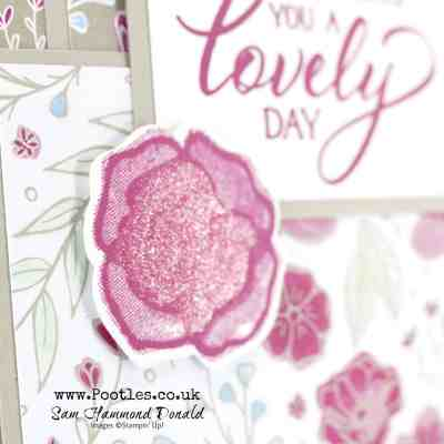 All My Love and Forever Lovely Layered Card