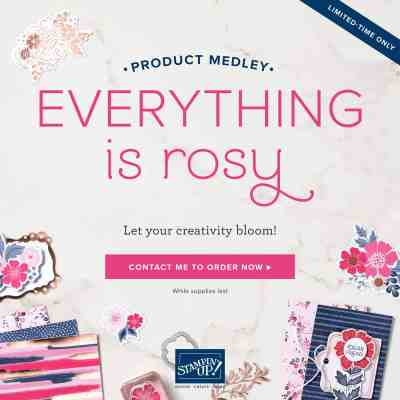 Brand new from Stampin' Up! Product Medley – Everything is Rosy