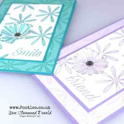 Beautiful Daisy Lane Card Tutorial