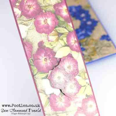 Pressed Petals Bookmark Tutorial