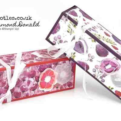 Springwatch 2020 #5 Peaceful Poppies Fold Flat Box Tutorial