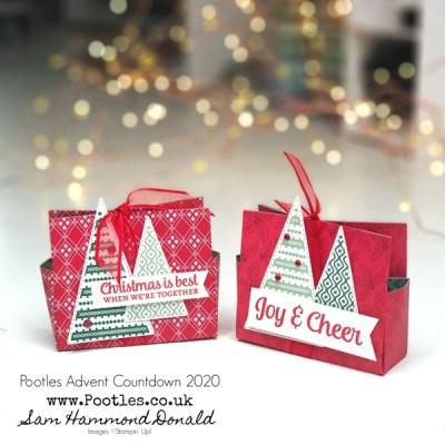 Pootles Advent Countdown 2020 6×6 Tree Angle Tis the Season Bag Tutorial