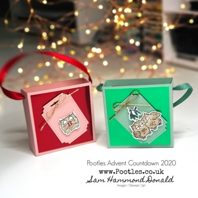Pootles Advent Countdown 2020 Adorable Mini Gift Bag for Christmas