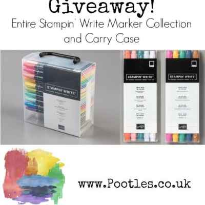 Huge and Amazing Stampin' Write Markers Giveaway Ending Soon!