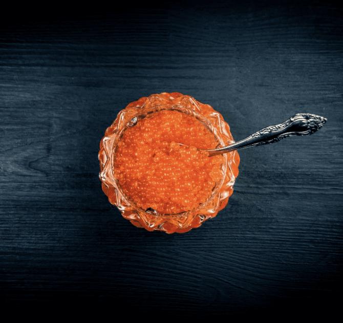 caviar de essturión - poowercool