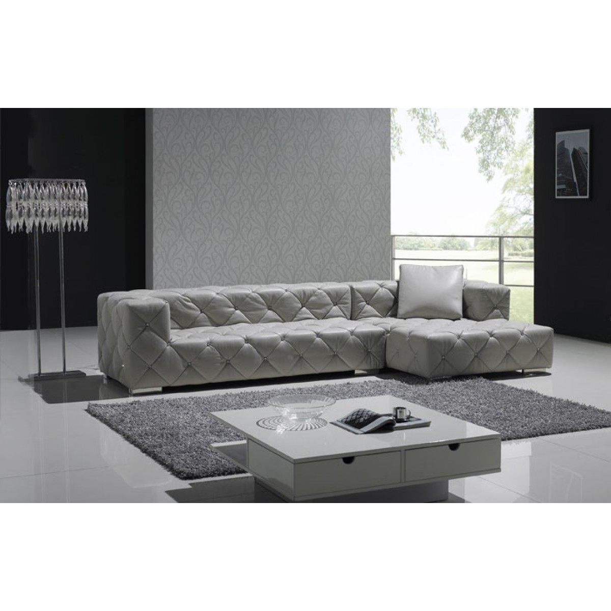 Canape Angle Chesterfield