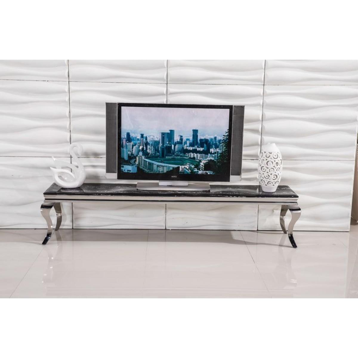 meuble tv duchesse en inox meuble tv