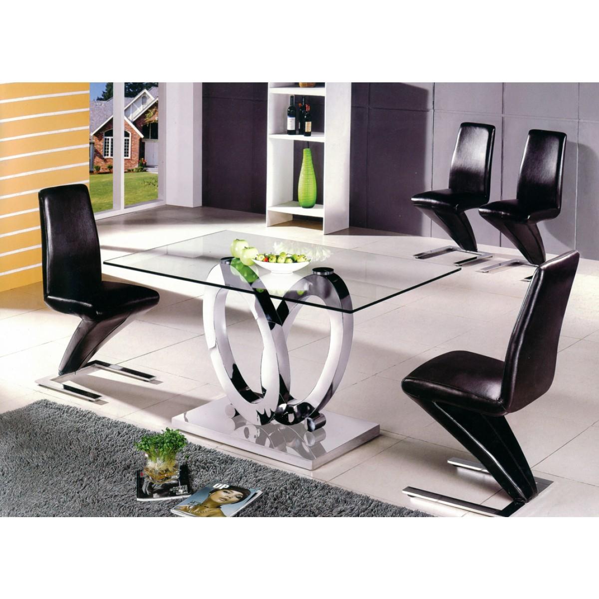 Table de salle  manger Design Ellipse taille au choix  Tables de salle  manger  Tables