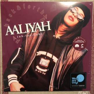 Aaliyah ‎– Back Forth LP