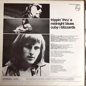 CubyBlizzards – Trippin Thru A Midnight Blues LP Back Cover