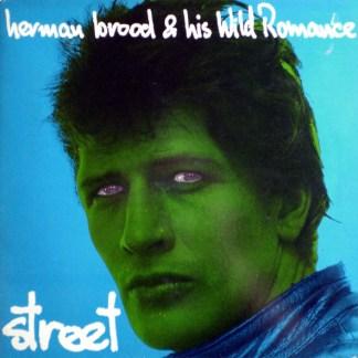 Herman Brood His Wild Romance Street LP Cover