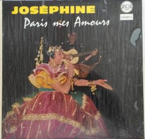 Joséphine – Paris Mes Amours LP Cover