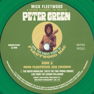 Mick Fleetwood ‎– Mick Fleetwood Friends Celebrate The Music Of Peter Green And The Early Years Of Fleetwood Mac LP Coloured Vinyl