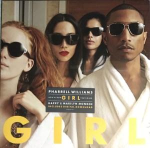 Pharrell Williams – G I R L LP Cover
