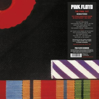 Pink Floyd The Final Cut LP Cover