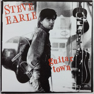 Steve Earle ‎– Guitar Town LP