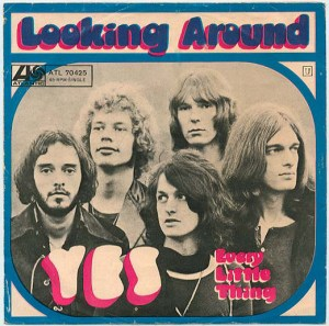 Yes – Looking Around LP Single