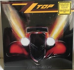 ZZ Top – Eliminator LP Cover