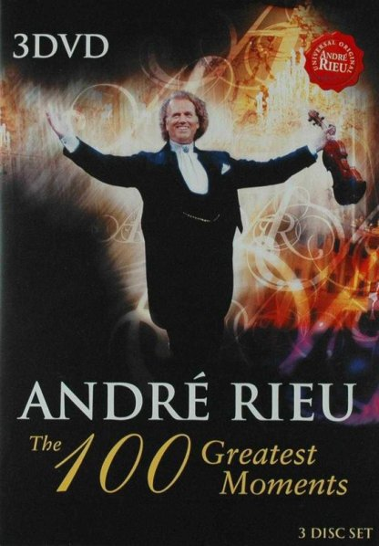 Andre Rieu 100 Greatest Moments DVD