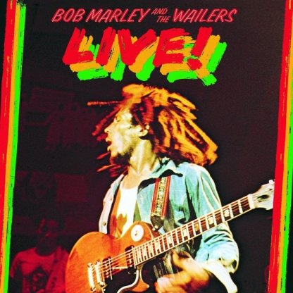 Bob Marley Live LP