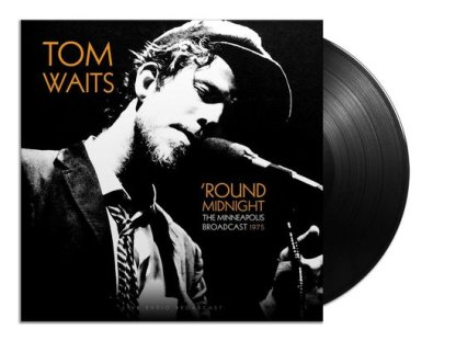 Tom Waits Best Of Round Midnight 1975 LP