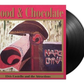 Elvis Costello The Blood And Chocolate LP