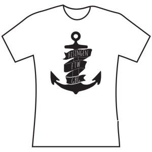 Hisingen FTW anchor T-shir