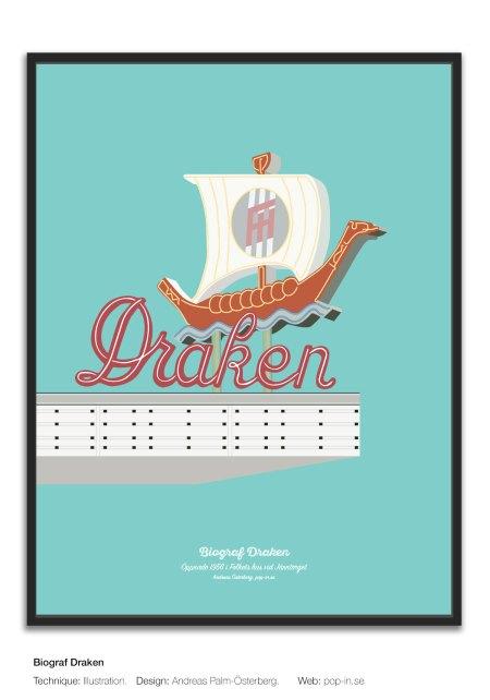 Biograf Draken framed