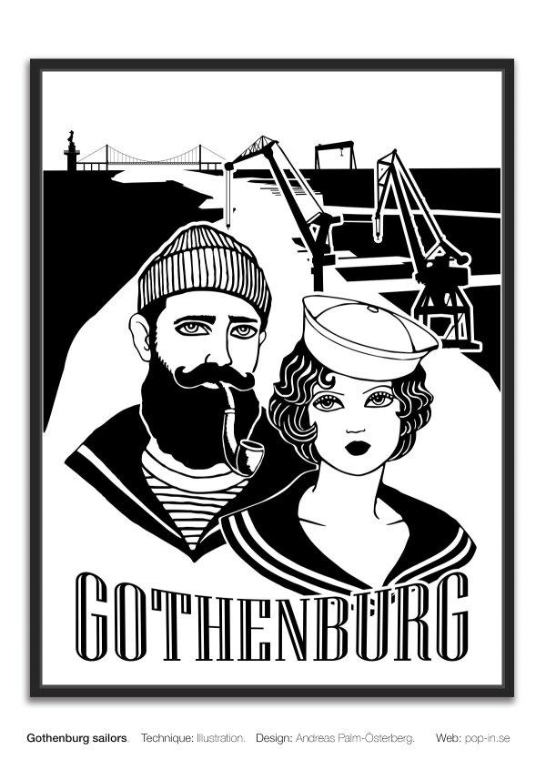 Gbg sailors framed