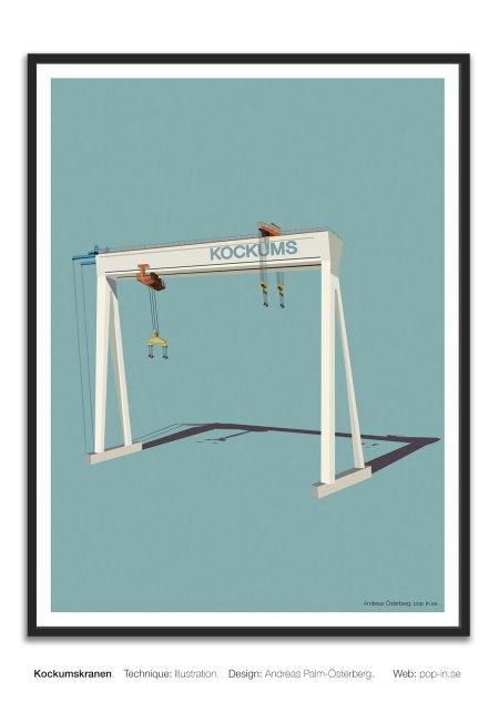 Kockumskranen framed