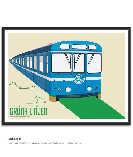 Gröna linjen tunnelbana