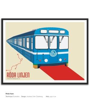 Röda linjen tunnelbana
