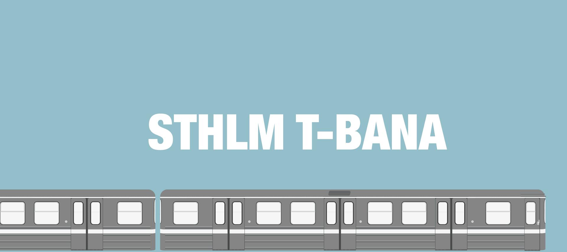 Sthlm T-bana