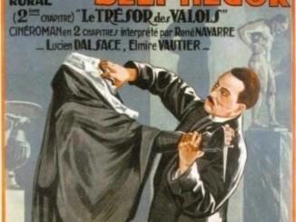 La couverture de Belphégor d'Arthur Bernède, en 1927