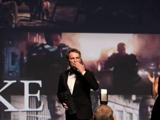 Les lauréats sur le podium du Festival de Deauville2018