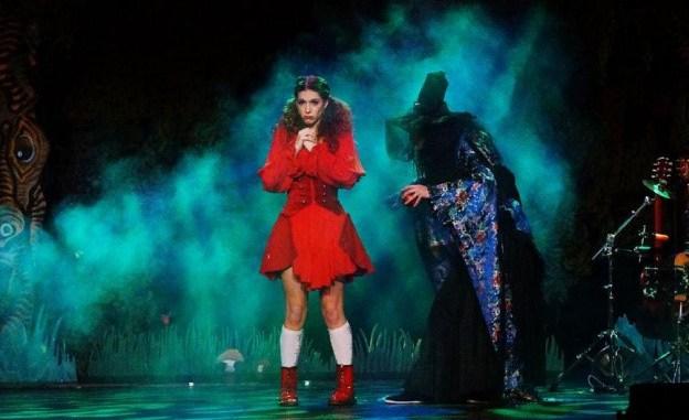 Le Petit Chaperon rouge sur scène